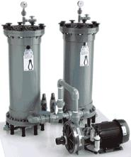 Series HF Horizontal Centrifugal Pump / Filter Systems