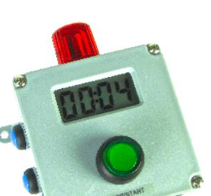 Gizmo timer with beacon LED option